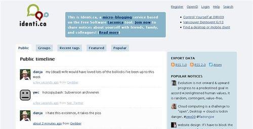 laconica Micro-blogging with Laconica Micro-blogging with Laconica laconica